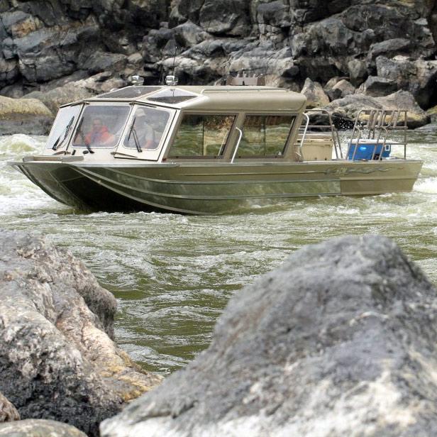 Hells Canyon Marine - Custom Whitewater Jet Boats